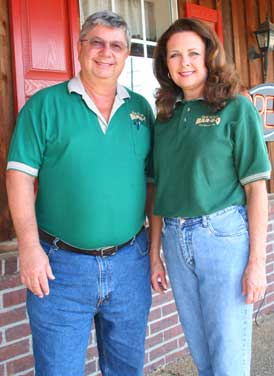 Rick and Carla Owners of Old Style Bar-B-Q